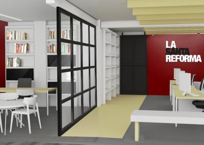 Proyecto de reforma integral y adecuación de espacios de trabajo de las oficinas de La Santa Reforma.